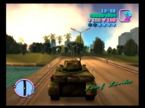 tank rampage in gta vice city youtube