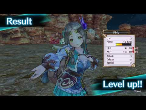 Atelier Firis - The Alchemist and the Mysterious Journey - Gameplay de 37 minutes