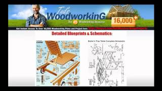Easy Free Woodworking Projects - Woodworking Drawings