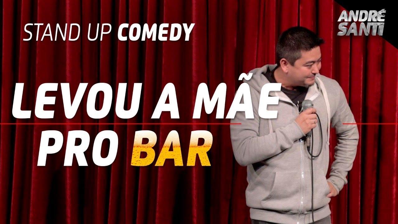 LEVOU A MÃE PRO ANIVERSÁRIO| André Santi | Stand Up Comedy