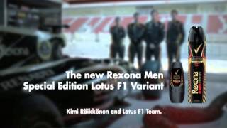 Rexona Men and Lotus F1 driver Kimi Raikkonen