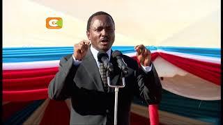 Kalonzo asema ataapishwa pamoja na Raila