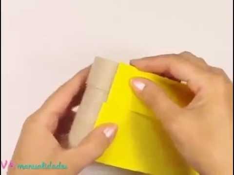 How to make a cute minion box .