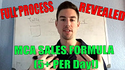 How MCA Works l Get 5+ Daily Sales On AUTOPILOT l MCA Training 2017