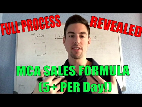 How MCA Works l Get 5+ Daily Sales On AUTOPILOT l MCA Training 2017