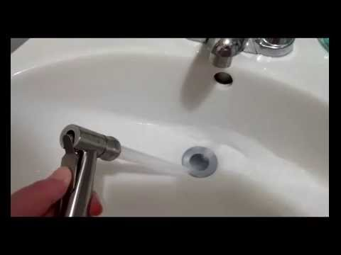Smarterfresh Hand Held Bidet Sprayer Demonstration Video