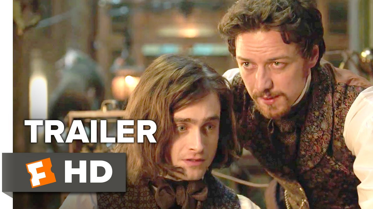 画像: Victor Frankenstein Official Trailer #1 (2015) - Daniel Radcliffe, James McAvoy Movie HD youtu.be
