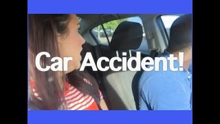 Vlog Day 26: We got in a Car Accident
