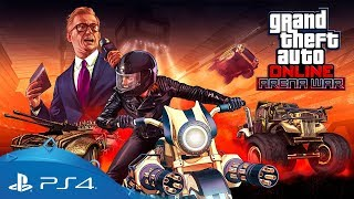 GTA Online | Arena War trailer | PS4