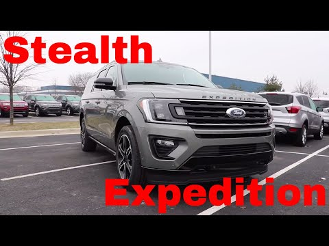 2019 Ford Expedition Limited Max Stealth