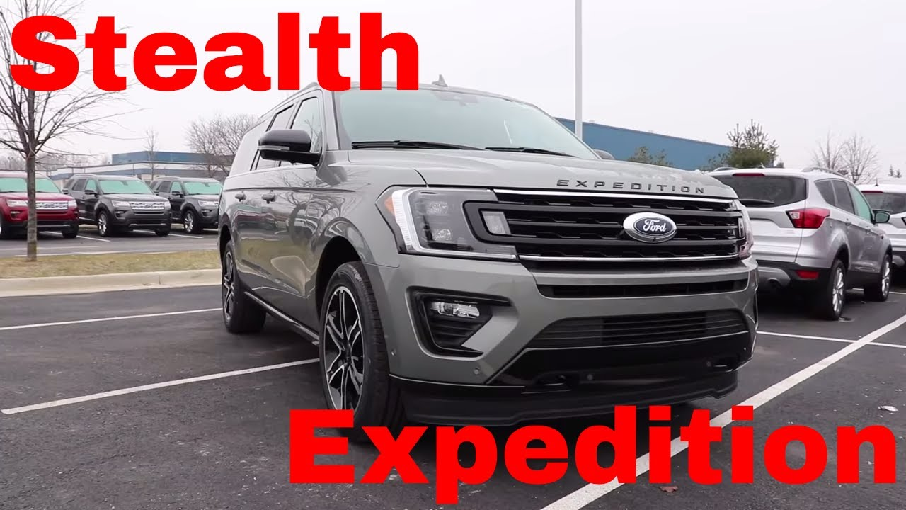 ford expedition limited max stealth youtube
