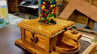 Diy Ball Mason Jar M&m Candy Machine