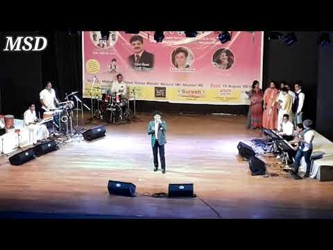 Hirva Nisarga |  Mobile Recorded | Marathi Song | Kalidas Auditorium|Jiyo Zindagi Music Charity Show