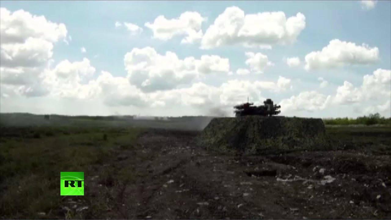 Российские боевые роботы успешно прошли испытания на полигоне