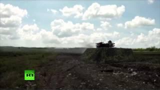 Российские боевые роботы успешно прошли испытания на полигоне(Робототехнические многофункциональные комплексы семейства «Уран» успешно прошли комплексные испытания..., 2015-05-14T18:56:31.000Z)