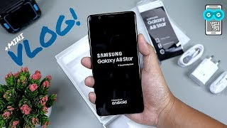 7 Hari Bersama Samsung Galaxy A8 Star / Unboxing / Hands-on / Features / Mini VLOG