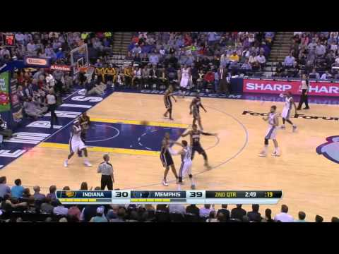 Indiana Pacers vs Memphis Grizzlies | March 22, 2014 | NBA 2013-14 Season