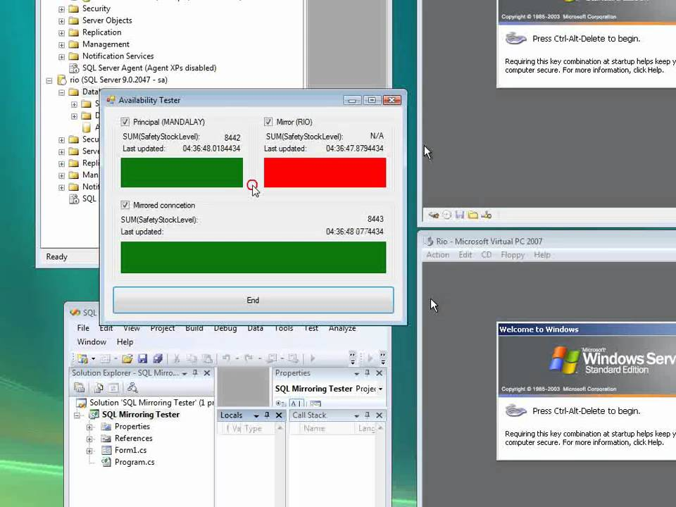 SQL Server Mirroring - A Practical Approach | Mark S  Rasmussen