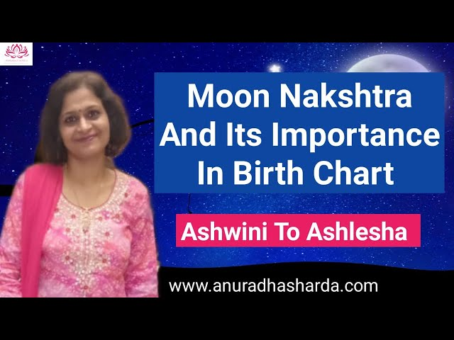 Effect of Moon in Different Nakshatras