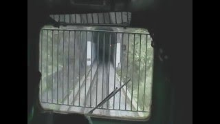 From the Train driver's cabin..... yes, its rare