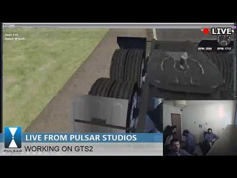 Live from Pulsar Studios - Development Grand Truck Simulator 2 (HTC VIVE)