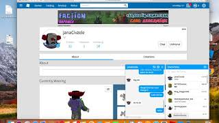 TROLLING ONE OF THE DUMBEST SCAMMERS IN ROBLOX