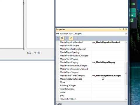 C# Edge 229 VLC5 Total Time and Time Playing Display