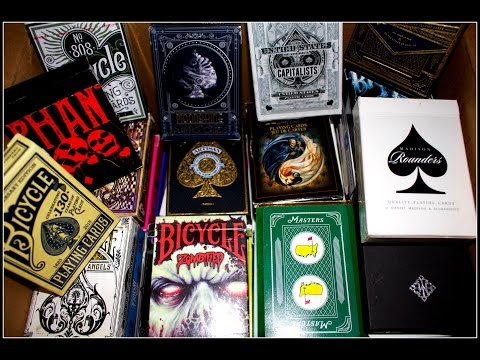 My Playing Card Deck Collection