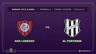San Lorenzo 5 - 0 El Porvenir | #VamosLasPibas | Fútbol femenino