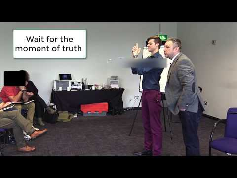 Hypnosis Demonstration To A Non Believer - UK Hypnosis Academy