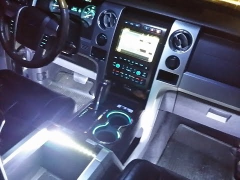 HOW TO INSTALL F150 INTERIOR LED AMBIENT LIGHTING WIRELESS CONTROL F150LEDS.COM