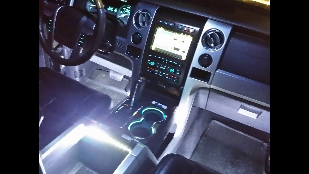 hight resolution of how to install f150 interior led ambient lighting wireless control f150leds com