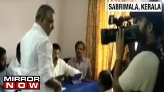 Sabrimala Row: Kerala Government holds review meeting; Devaswom minister chairs meeting