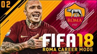 FIFA 18 Roma Career Mode Ep2 - LOOKING FORWARD TO THE CHALLENGE!!
