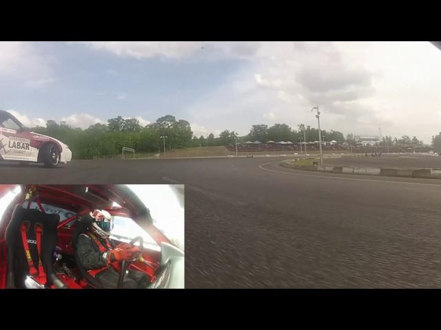 Jonathan Guitard (Guitard Racing) vs Patrick Herger - Formula Drift Canada - Autodrome Montmagny