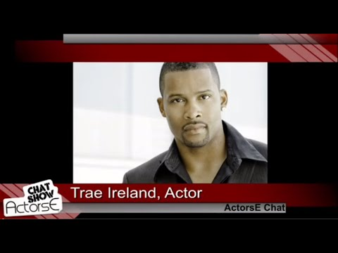 Acting tips from Actor Trae Ireland guests on ActorsE Chat with Kristina Nikols