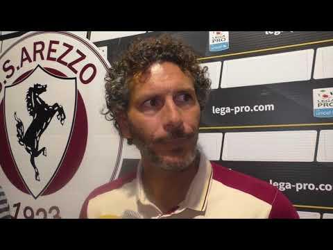 Arezzo-Fiorentina 1-2, intervista con mister Dal Canto