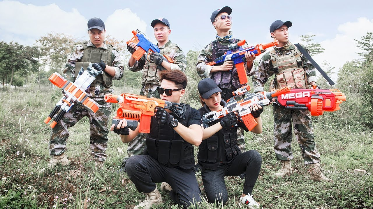 Wallpaper Pubg Real Life: LTT Gaming Nerf Guns : Game Nerf Guns