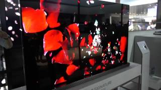 LG G7 4K OLED TV mit Dolby Vision & Dolby Atmos @ CES 2017