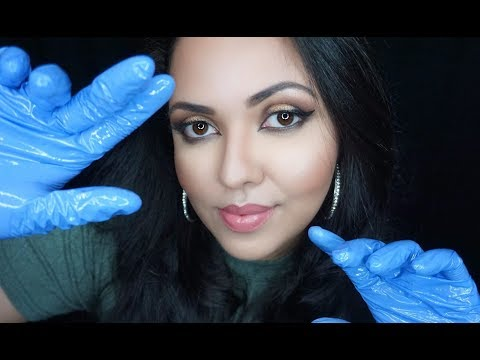 ASMR Scalp and Face Massage|  Brush ,Gloves and Oil