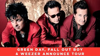Green Day, Fall Out Boy & Weezer Announce 'Hella Mega Tour' & New Music - News