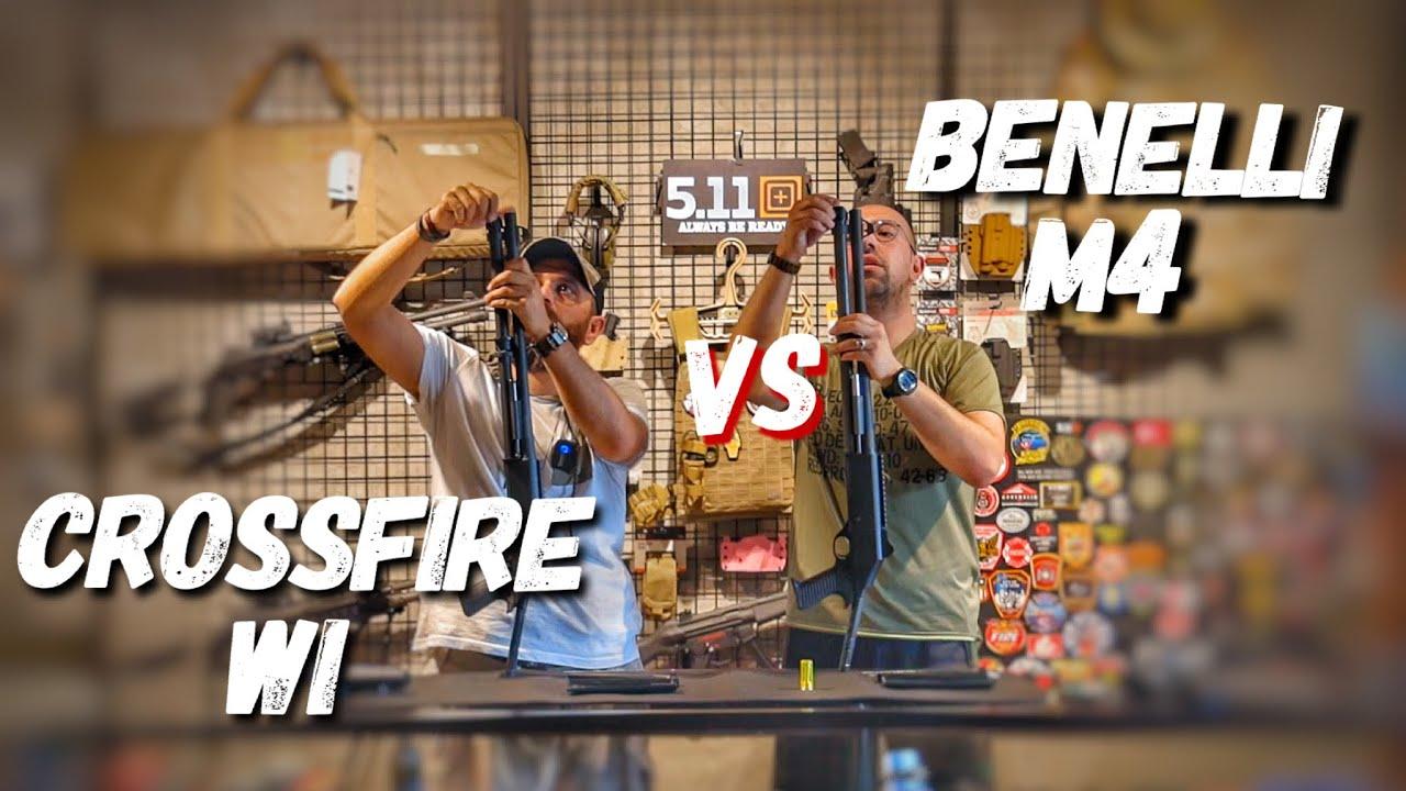 Benelli M4 vs Crossfire WI | Tolga BAHAR