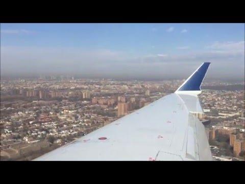 Delta CRJ-700 Landing at New York LaGuardia Airport LGA