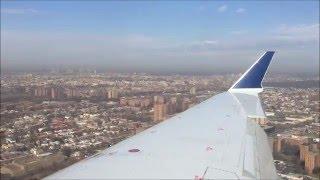 delta crj 700 landing at new york laguardia airport lga