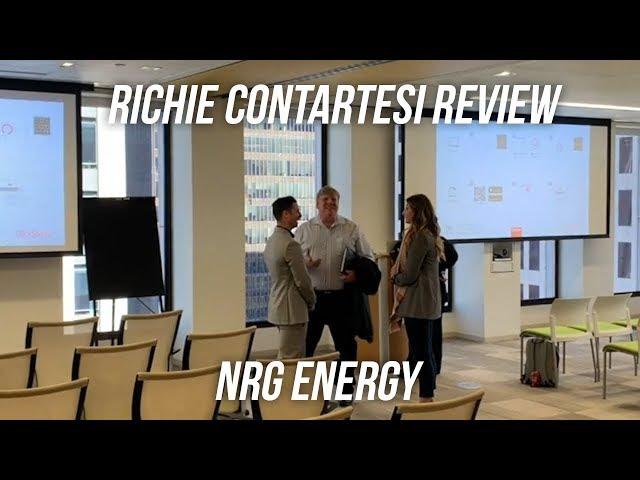 Richie Contartesi Review | NRG Energy