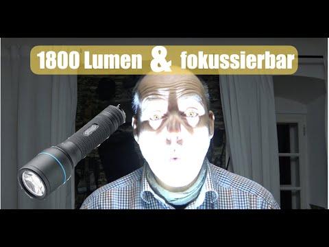 1800 Lumen + fokussierbar = ???? Walther PL71r
