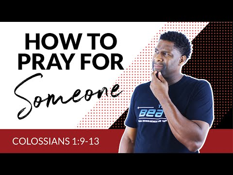 How to Pray for Others