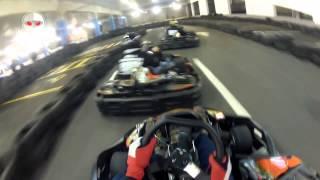 KRU/a-cool vs TTP vs USKOK Racing Team vs MUSAKI @ Karting Arena Split / heat 4