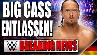 Big Cass entlassen! | WWE BREAKING NEWS