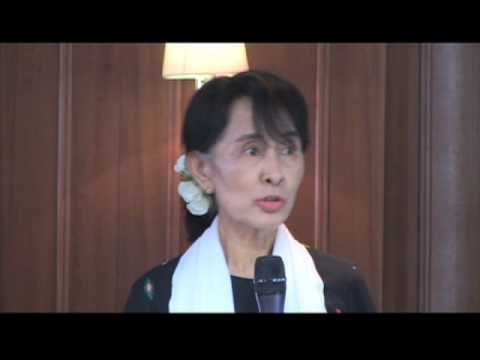 ASSK in Paris : On Burma's obligations under international human rights law